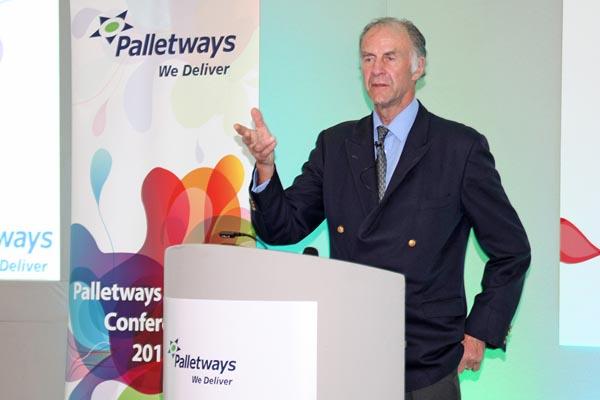 Palletways Platinum Club - Sir Ranulph Fiennes